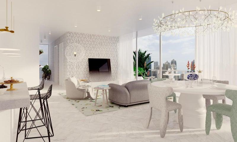 PANAMA VIP10, S.A. Apartamento en Venta en Marbella en Panama Código: 17-197 No.1