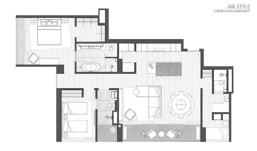 PANAMA VIP10, S.A. Apartamento en Venta en Marbella en Panama Código: 17-200 No.6