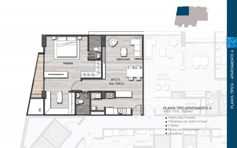 PANAMA VIP10, S.A. Apartamento en Venta en Parque Lefevre en Panama Código: 17-412 No.2