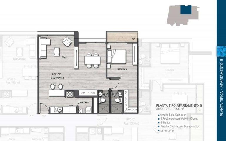PANAMA VIP10, S.A. Apartamento en Venta en Parque Lefevre en Panama Código: 17-412 No.3