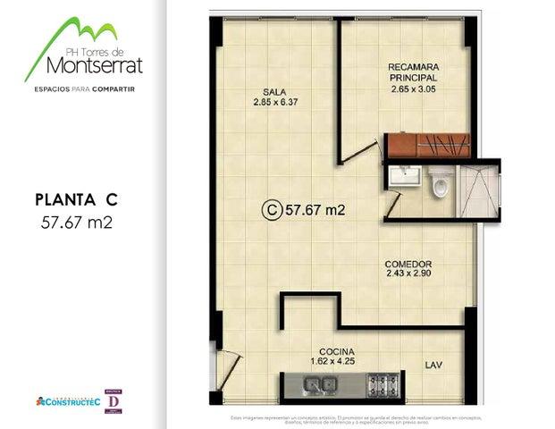 PANAMA VIP10, S.A. Apartamento en Venta en 12 de Octubre en Panama Código: 17-580 No.8