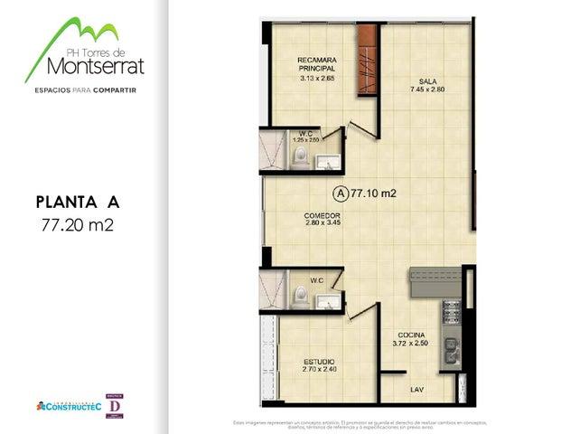 PANAMA VIP10, S.A. Apartamento en Venta en 12 de Octubre en Panama Código: 17-591 No.5