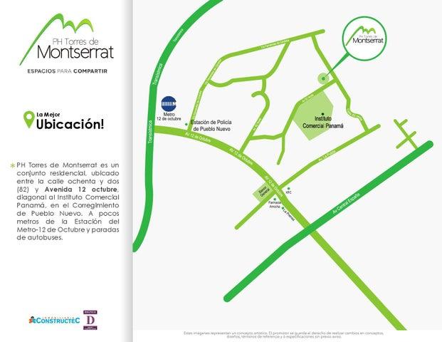PANAMA VIP10, S.A. Apartamento en Venta en 12 de Octubre en Panama Código: 17-601 No.2