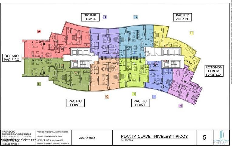 PANAMA VIP10, S.A. Apartamento en Alquiler en Punta Pacifica en Panama Código: 17-1100 No.1