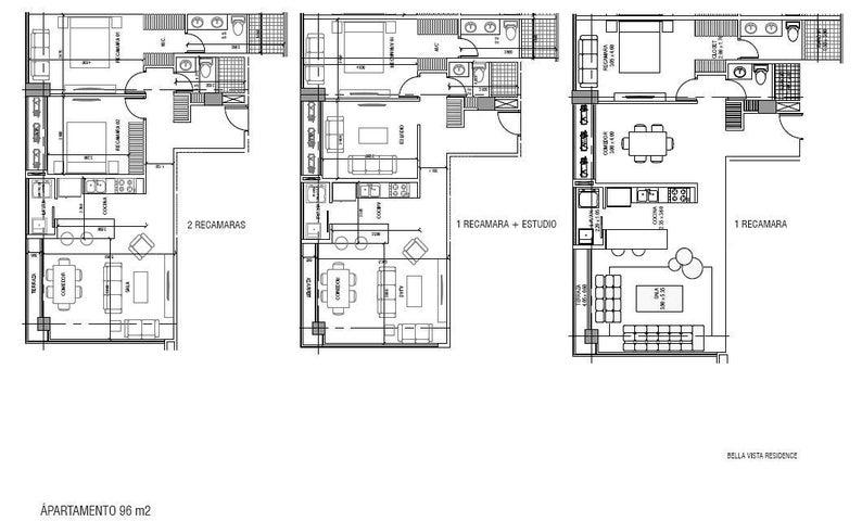PANAMA VIP10, S.A. Apartamento en Venta en Bellavista en Panama Código: 17-1673 No.5