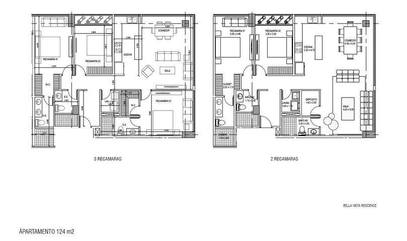PANAMA VIP10, S.A. Apartamento en Venta en Bellavista en Panama Código: 17-1674 No.4