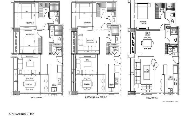 PANAMA VIP10, S.A. Apartamento en Venta en Bellavista en Panama Código: 17-1673 No.4