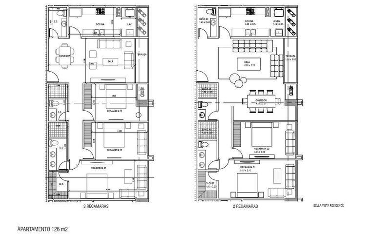 PANAMA VIP10, S.A. Apartamento en Venta en Bellavista en Panama Código: 17-1674 No.5