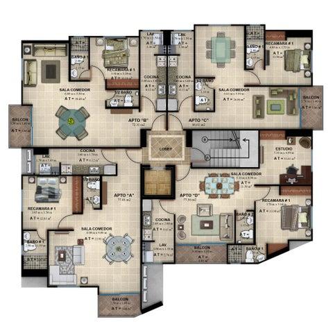 PANAMA VIP10, S.A. Apartamento en Venta en San Francisco en Panama Código: 17-1715 No.7