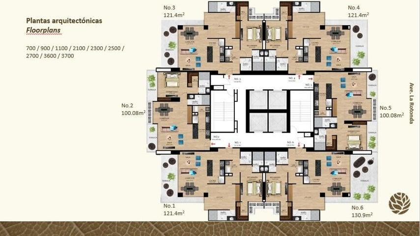 PANAMA VIP10, S.A. Apartamento en Venta en Costa del Este en Panama Código: 17-2254 No.6