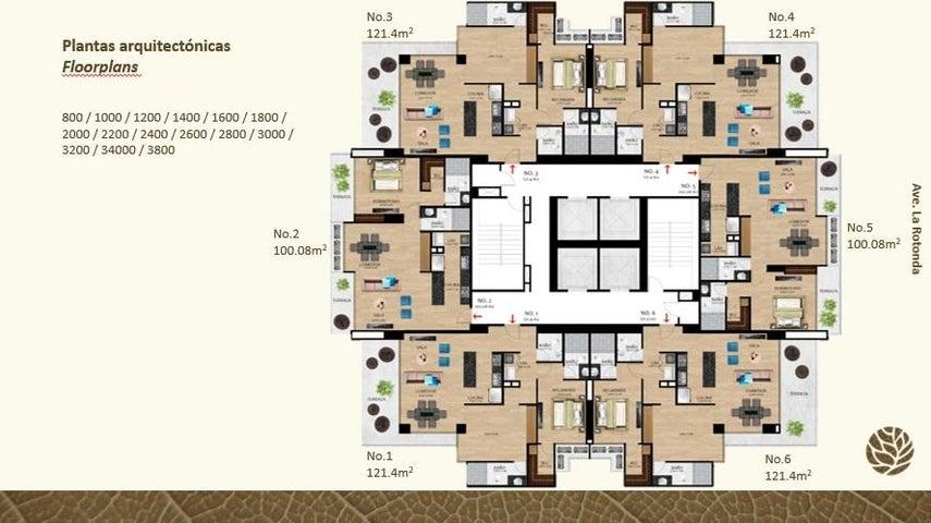 PANAMA VIP10, S.A. Apartamento en Venta en Costa del Este en Panama Código: 17-2255 No.4