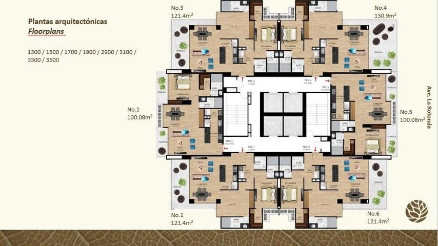 PANAMA VIP10, S.A. Apartamento en Venta en Costa del Este en Panama Código: 17-2255 No.5