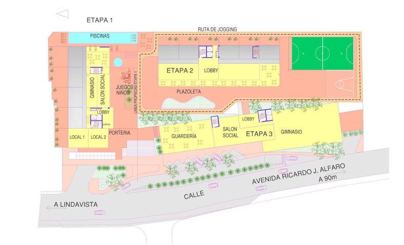 PANAMA VIP10, S.A. Apartamento en Venta en Condado del Rey en Panama Código: 17-2339 No.3