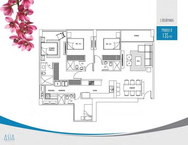 PANAMA VIP10, S.A. Apartamento en Venta en Costa del Este en Panama Código: 17-2352 No.8