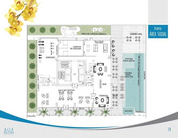 PANAMA VIP10, S.A. Apartamento en Venta en Costa del Este en Panama Código: 17-2350 No.8