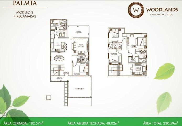 PANAMA VIP10, S.A. Casa en Venta en Panama Pacifico en Panama Código: 17-2431 No.3