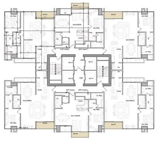 PANAMA VIP10, S.A. Apartamento en Venta en Coco del Mar en Panama Código: 17-2490 No.8