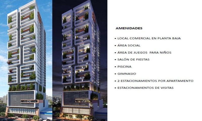 PANAMA VIP10, S.A. Apartamento en Venta en Obarrio en Panama Código: 17-2834 No.4
