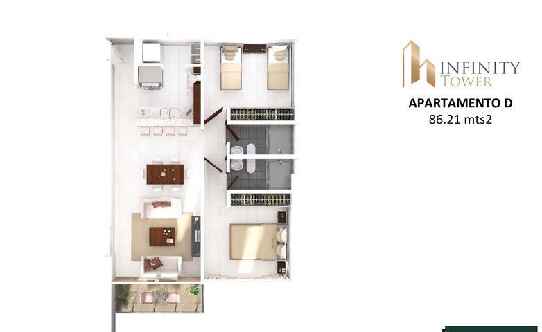 PANAMA VIP10, S.A. Apartamento en Venta en Bellavista en Panama Código: 17-2846 No.8