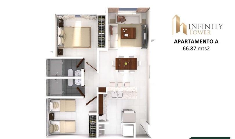 PANAMA VIP10, S.A. Apartamento en Venta en Bellavista en Panama Código: 17-2847 No.5