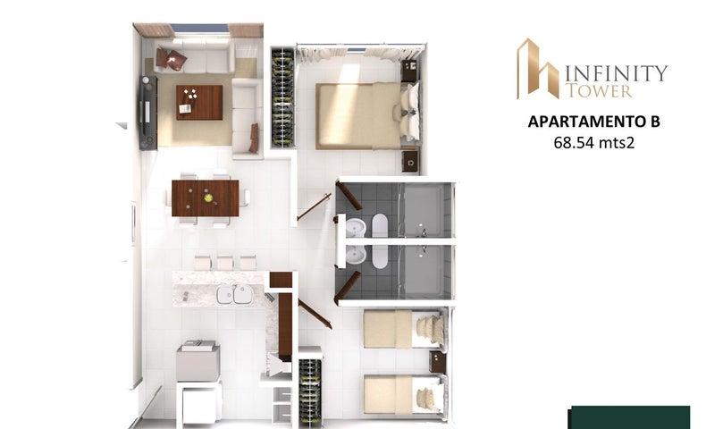 PANAMA VIP10, S.A. Apartamento en Venta en Bellavista en Panama Código: 17-2847 No.6