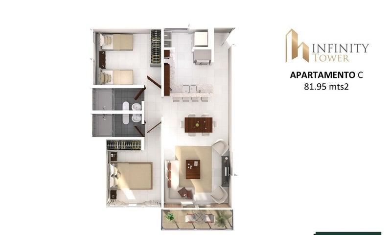 PANAMA VIP10, S.A. Apartamento en Venta en Bellavista en Panama Código: 17-2847 No.7