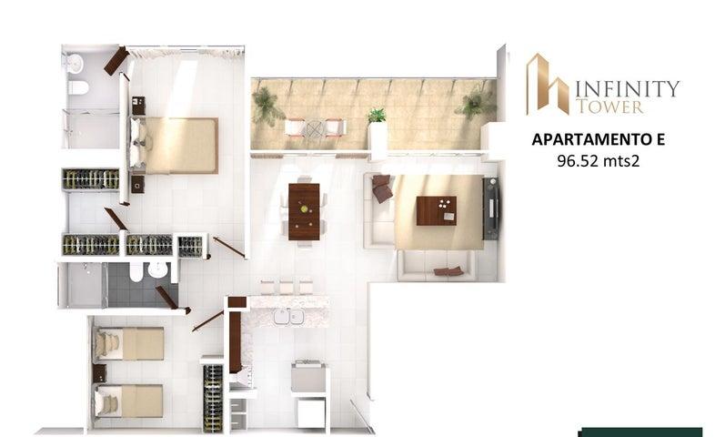 PANAMA VIP10, S.A. Apartamento en Venta en Bellavista en Panama Código: 17-2848 No.9