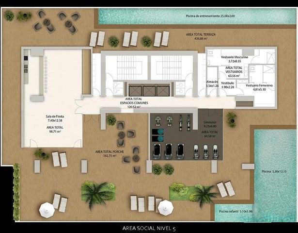 PANAMA VIP10, S.A. Apartamento en Venta en Bellavista en Panama Código: 17-2850 No.1