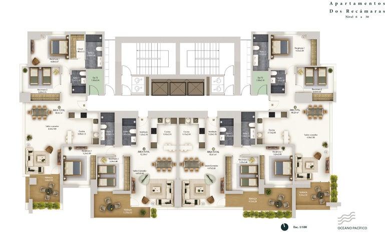 PANAMA VIP10, S.A. Apartamento en Venta en Bellavista en Panama Código: 17-2850 No.2