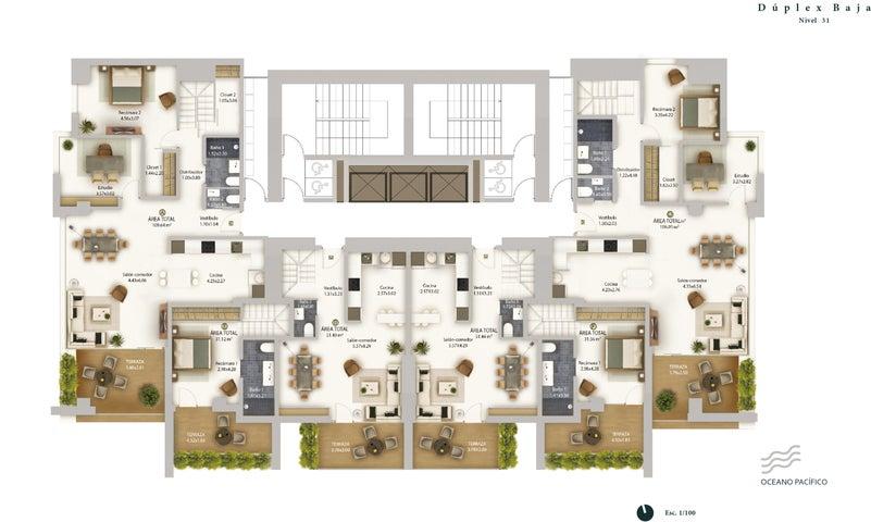 PANAMA VIP10, S.A. Apartamento en Venta en Bellavista en Panama Código: 17-2850 No.3