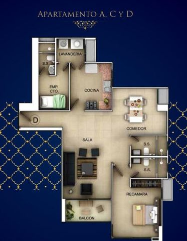 PANAMA VIP10, S.A. Apartamento en Venta en Bellavista en Panama Código: 17-3144 No.3