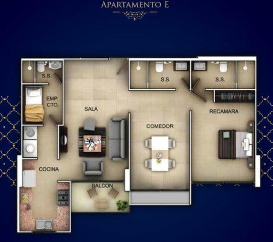 PANAMA VIP10, S.A. Apartamento en Venta en Bellavista en Panama Código: 17-3144 No.6