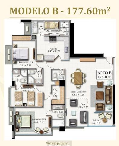 PANAMA VIP10, S.A. Apartamento en Venta en Costa del Este en Panama Código: 17-3178 No.5