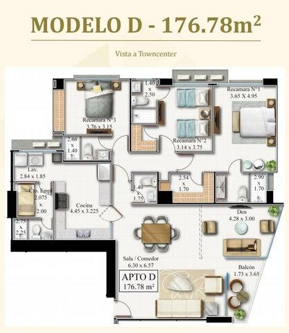 PANAMA VIP10, S.A. Apartamento en Venta en Costa del Este en Panama Código: 17-3178 No.7