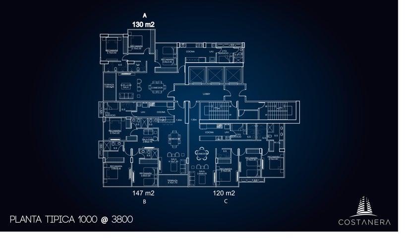 PANAMA VIP10, S.A. Apartamento en Venta en Bellavista en Panama Código: 17-1063 No.8