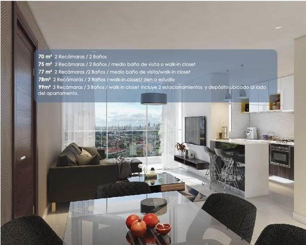 PANAMA VIP10, S.A. Apartamento en Venta en Via Espana en Panama Código: 17-3808 No.6