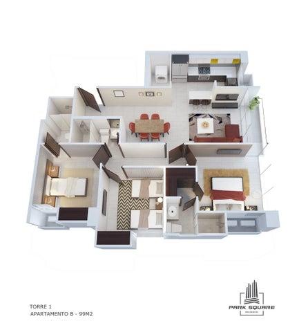 PANAMA VIP10, S.A. Apartamento en Venta en Via Espana en Panama Código: 17-3808 No.7