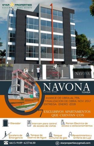PANAMA VIP10, S.A. Apartamento en Venta en Betania en Panama Código: 17-4683 No.0