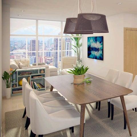 PANAMA VIP10, S.A. Apartamento en Venta en San Francisco en Panama Código: 17-5872 No.3