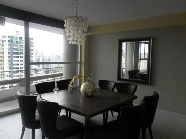 PANAMA VIP10, S.A. Apartamento en Alquiler en El Cangrejo en Panama Código: 17-6109 No.3