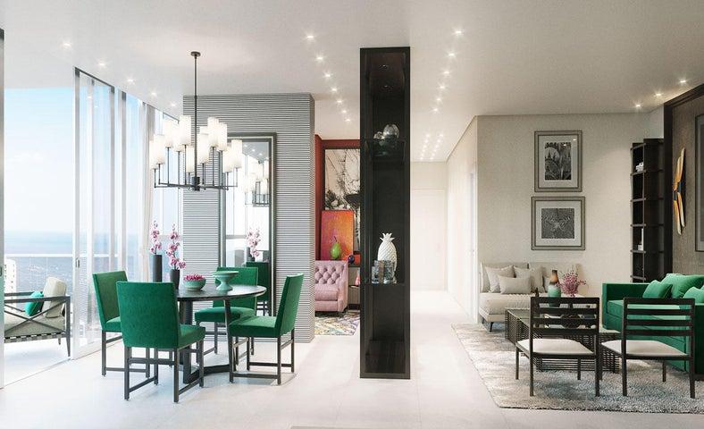 PANAMA VIP10, S.A. Apartamento en Venta en San Francisco en Panama Código: 17-6294 No.9