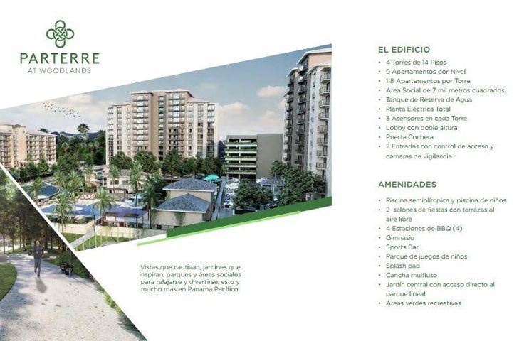 PANAMA VIP10, S.A. Apartamento en Venta en Panama Pacifico en Panama Código: 17-6715 No.3