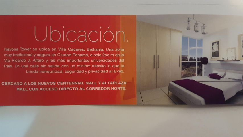 PANAMA VIP10, S.A. Apartamento en Venta en Betania en Panama Código: 17-4683 No.8