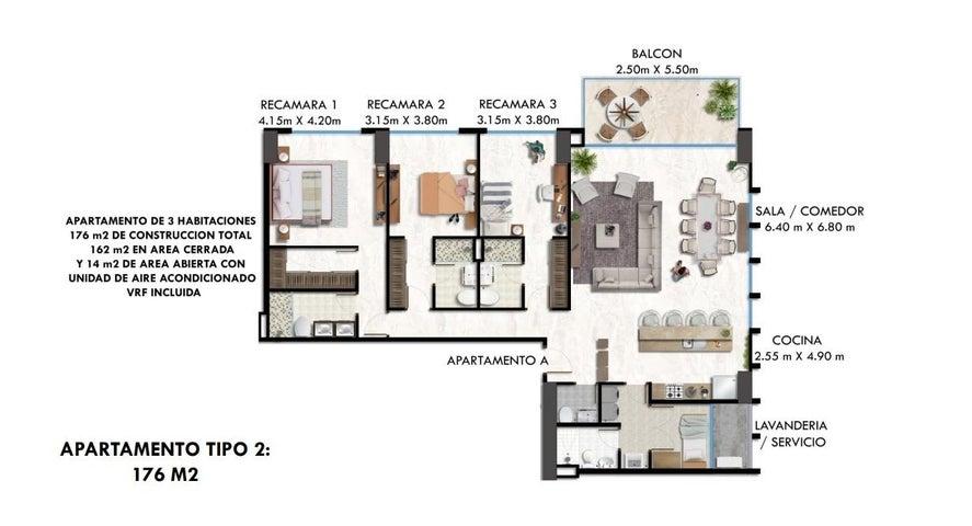 PANAMA VIP10, S.A. Apartamento en Venta en Obarrio en Panama Código: 18-548 No.8