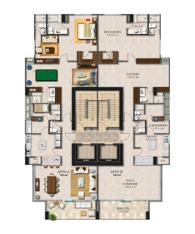 PANAMA VIP10, S.A. Apartamento en Venta en Bellavista en Panama Código: 18-3509 No.2