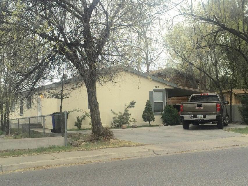 MLS 993991 849 Ruth Street Unit A Building 849, Prescott, AZ Prescott AZ Affordable