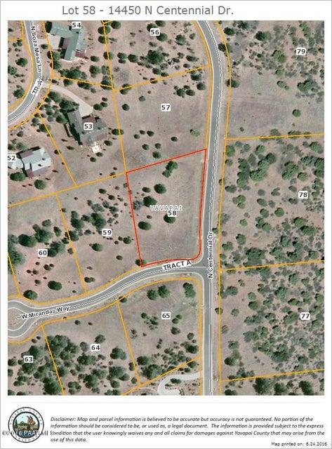 14450 N Centennial Drive Prescott, AZ 86305 - MLS #: 996296