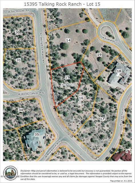 15395 N Talking Rock Ranch Road Prescott, AZ 86305 - MLS #: 997264