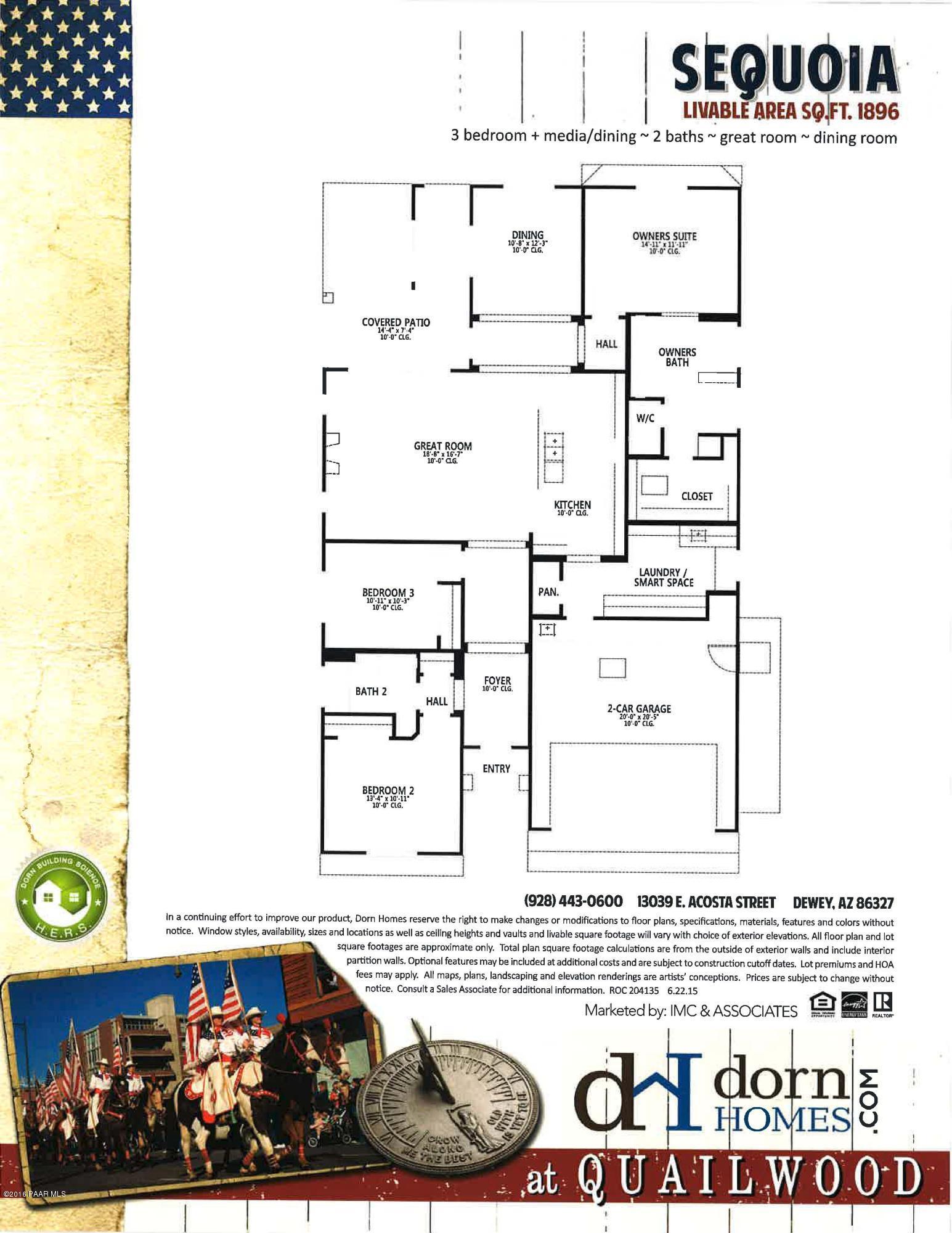 13029 E Acosta Street, Dewey-humboldt Az 86327