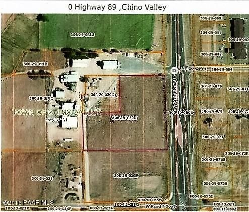 0 S Highway 89 Chino Valley, AZ 86323 - MLS #: 998360